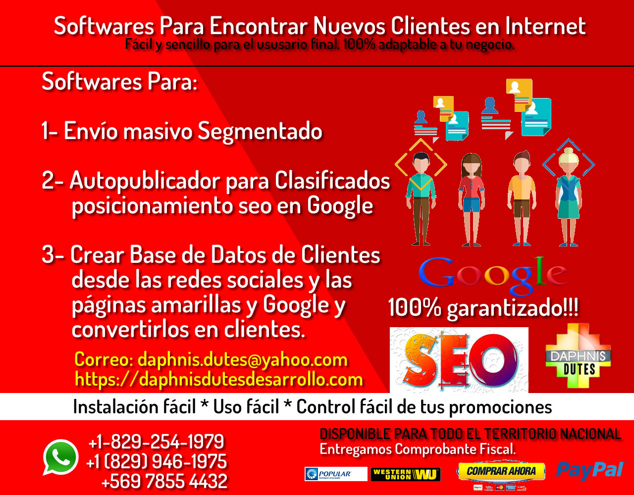 Empresas de marketing posicionamiento Web en Santo Domingo