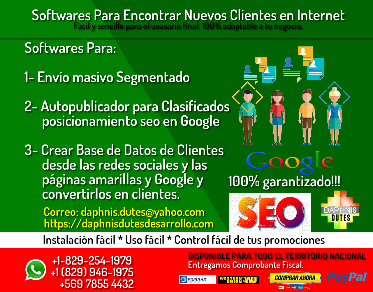 Marketing de contenidos en Santo Domingo programa
